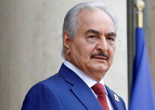 القائد العسكري الليبي خليفة حفتر - صورة من أرشيف رويترز.<br/>