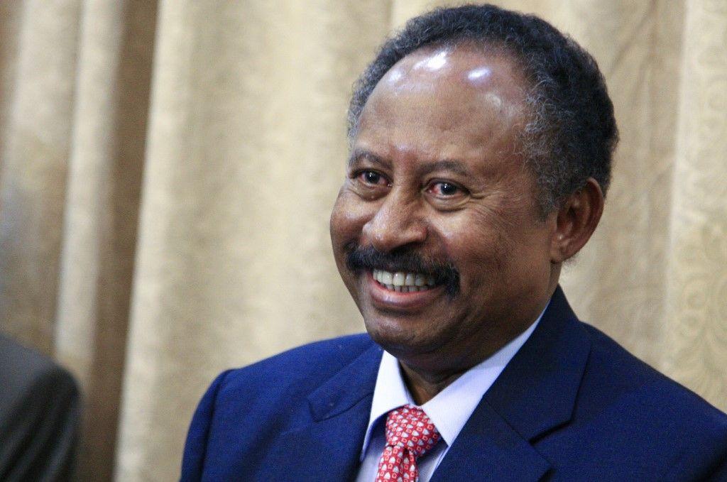 رئيس وزراء السودان الدكتور عبد الله حمدوك