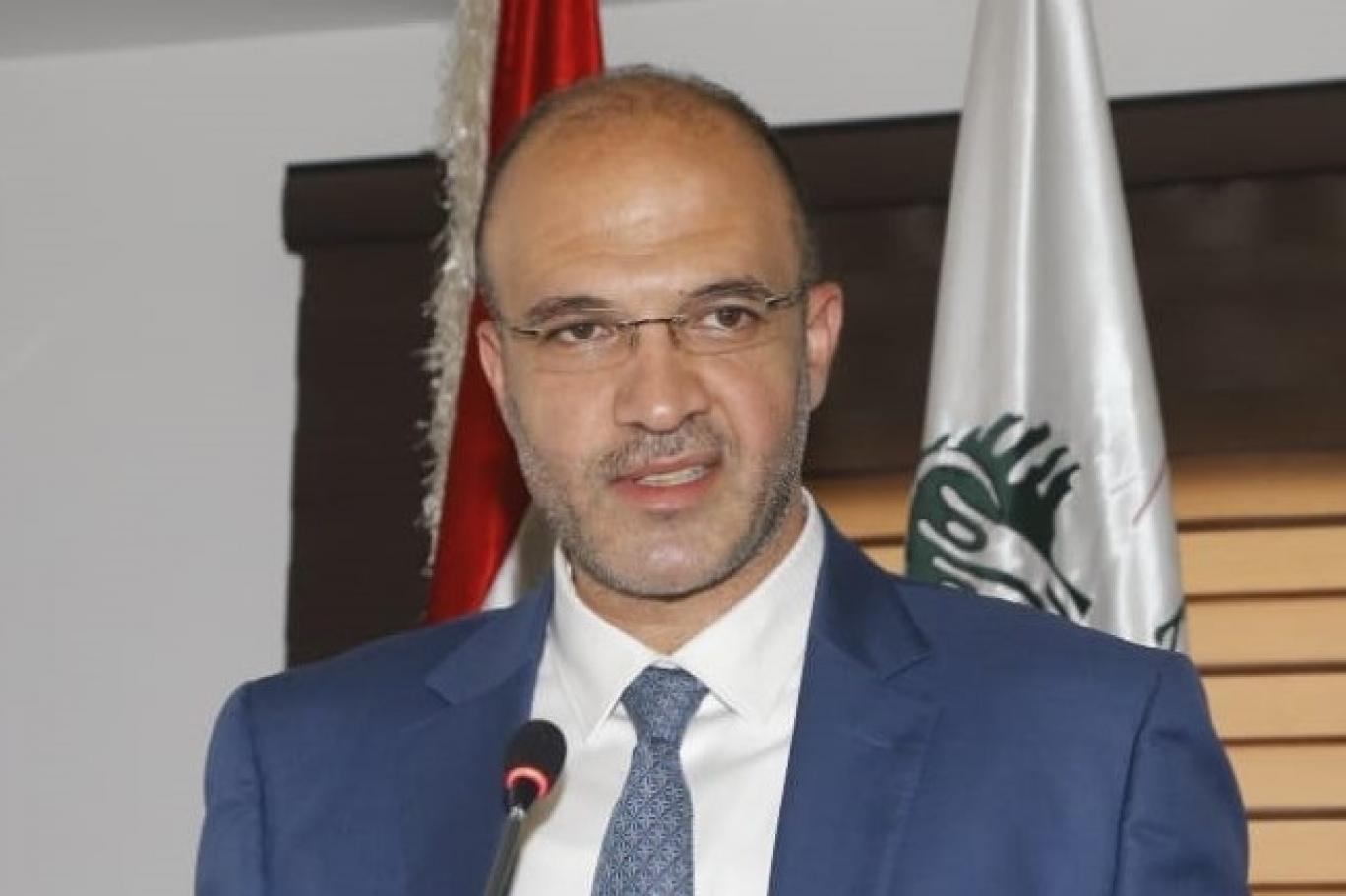 وزير الصحة اللبناني الدكتور حمد حسن