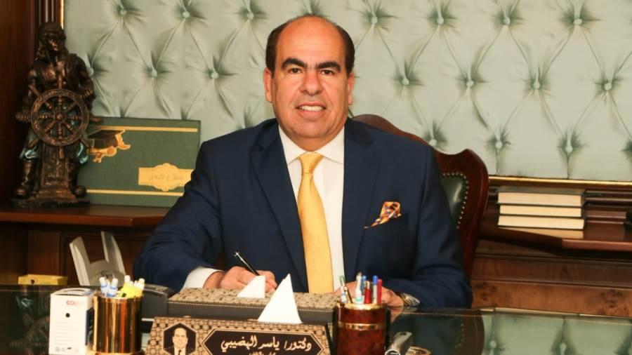 الدكتور ياسر الهضيبى، عضو مجلس الشيوخ