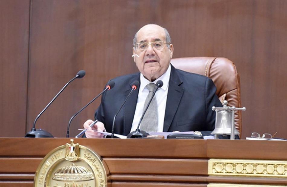 رئيس مجلس الشيوخ المستشار عبدالوهاب عبدالرازق