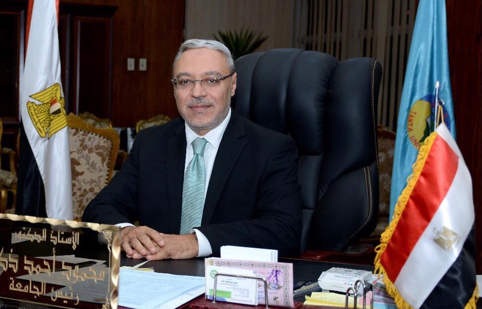 محمود ذكى، رئيس جامعة طنطا