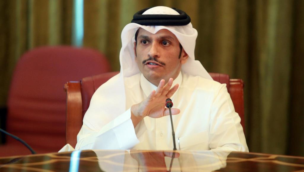 وزير الخارجية القطري الشيخ محمد بن عبدالرحمن آل ثاني