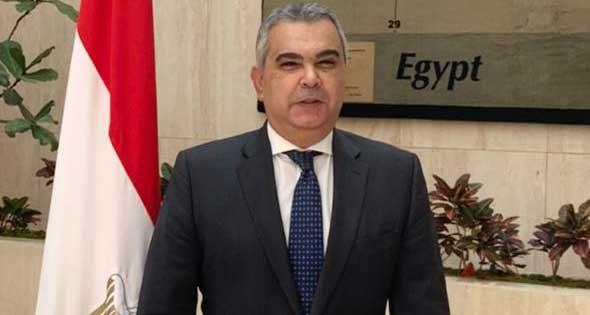 معتز زهران سفير مصر في واشنطن