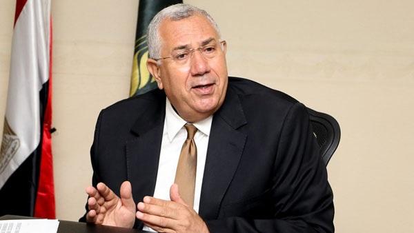 السيد القصير، وزير الزراعة