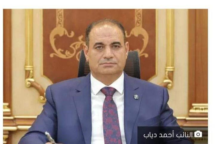 النائب أحمد دياب