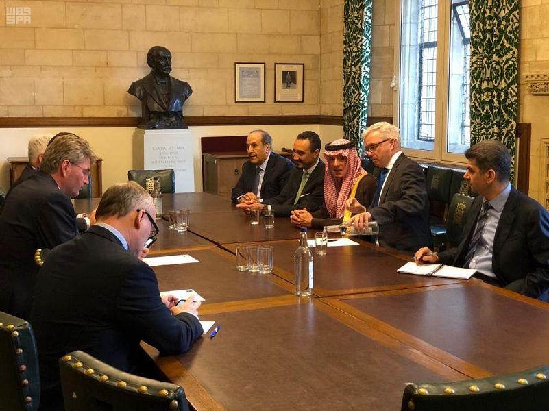 وزير الخارجية السعودي يزور البرلمان البريطاني