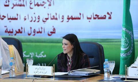 وزيرة السياحة تشارك في الاجتماع المشترك لوزراء السياحة والثقافة العرب