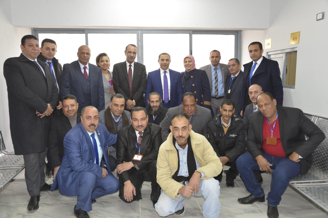 افتتاح قسم جديد للطب الشرعى لخدمة محافظتى السويس وجنوب سيناء -