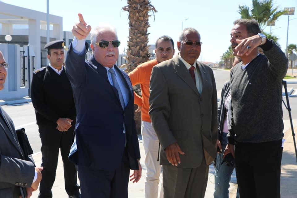بالصور.. شرم الشيخ تستعد للمؤتمر العربي الأوروبي -