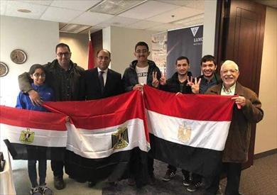 إقبال كبير من المصريين بالخارج في ثاني أيام الاستفتاء على تعديل الدستور