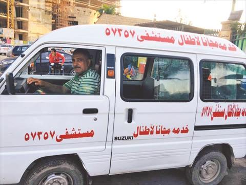 سيارة صيام عبده الشهير بـ«ظاظا»