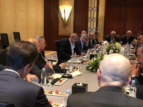 طارق عامر يجتمع بمستثمري السياحة في شرم الشيخ