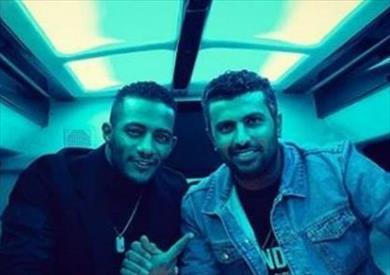 محمد رمضان والمخرج محمد سامي