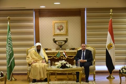 النائب العام ونظيره السعودي