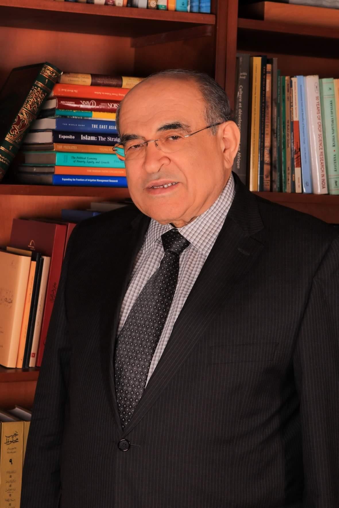 مصطفي الفقي مدير مكتبة الإسكندرية