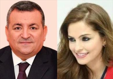 أسامة هيكل ومنال عبد الصمد