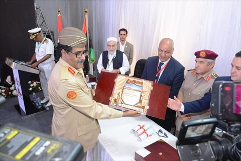الجيش الليبى يحتفل بذكرى تأسيسه الـ80 في القاهرة