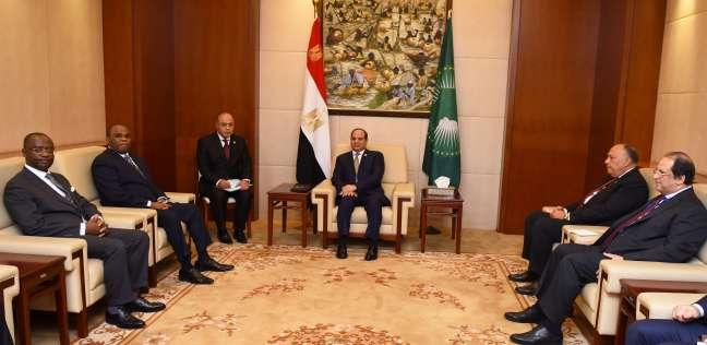 الرئيس السيسي يلتقي رئيس البنك الإفريقي بأديس أبابا -          بوابة الشروق