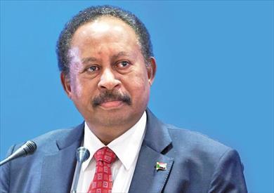 الدكتور عبد الله حمدوك رئيس وزراء السودان