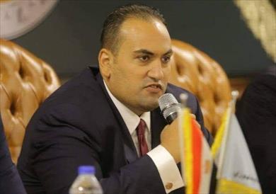 النائب محمد الرشيدي عضو مجلس الشيوخ