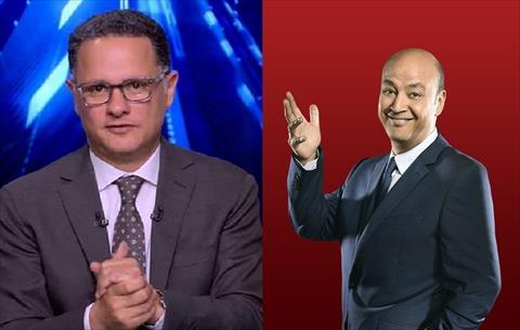 الإعلامي عمرو أديب وشريف عامر