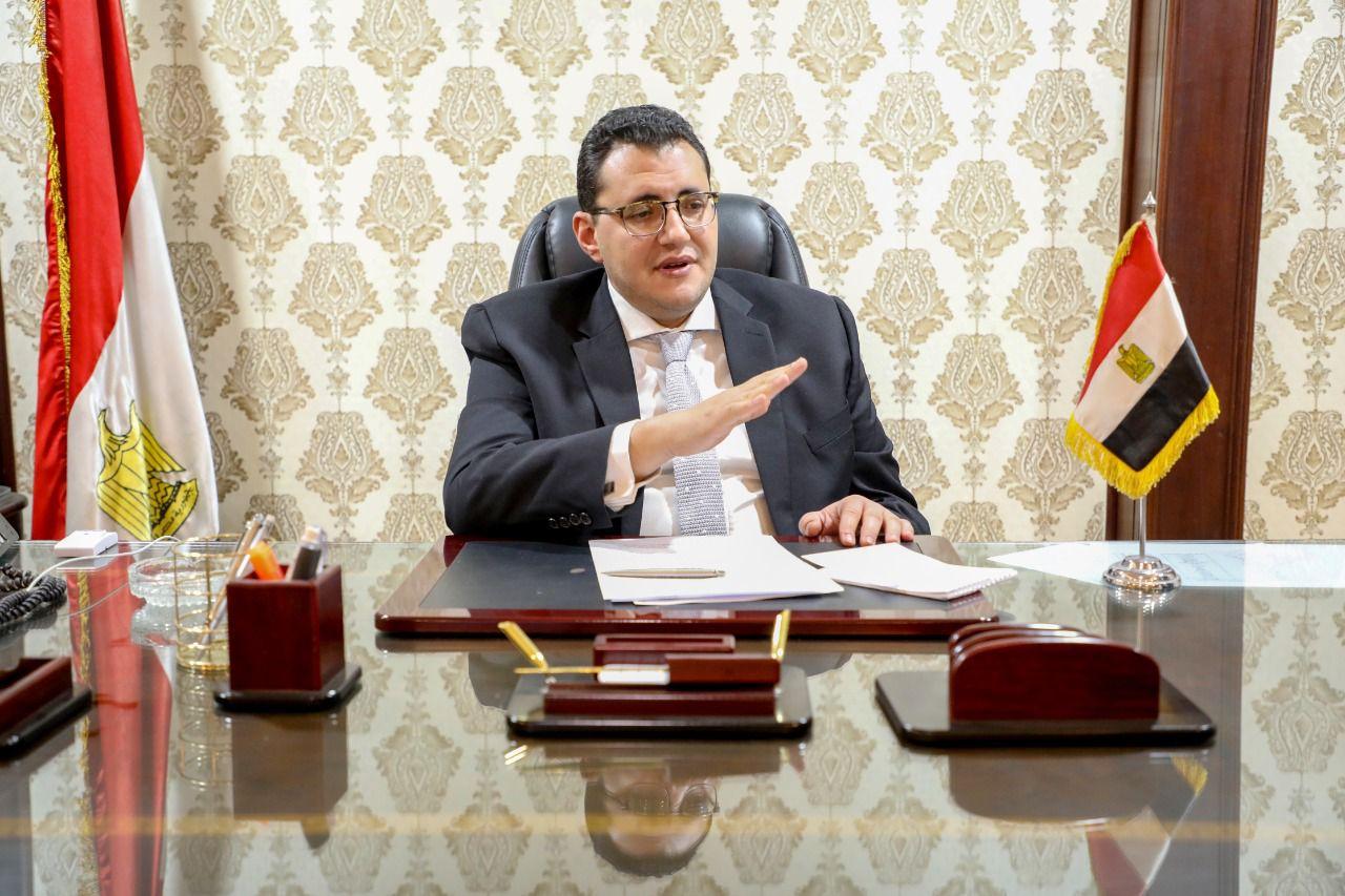 الدكتور خالد مجاهد مساعد وزيرة الصحة والسكان