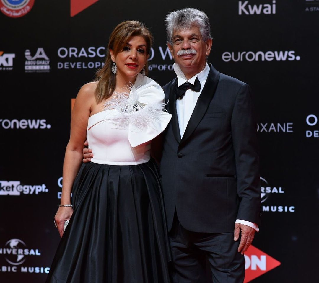 انتشال التميمي وزوجته