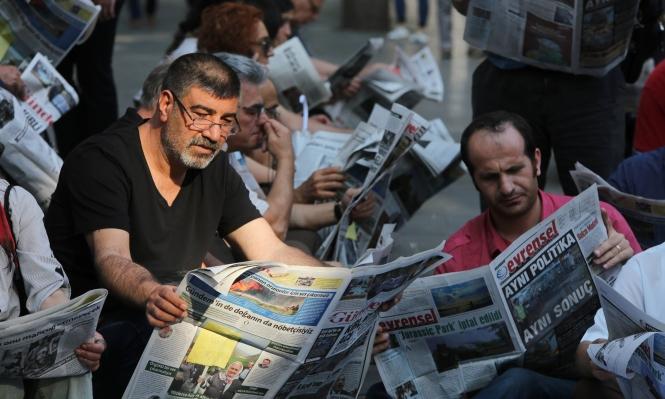 تقرير تركي يكشف كيف اختطف اردوغان الصحافة التركية -          بوابة الشروق