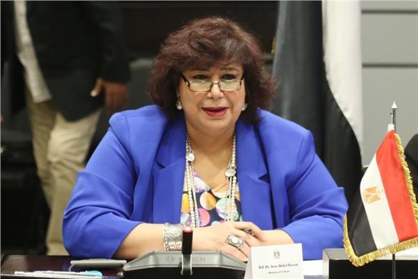 إيناس عبدالدايم، وزيرة الثقافة