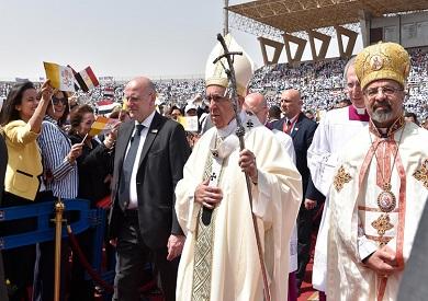 البابا فرانسيس في مصر - أرشيفية