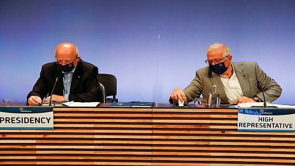 وكالة الأنباء الألمانية: وزراء خارجية الاتحاد الأوروبي يقرون حزمة عقوبات ضد بيلاروس