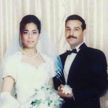 حلا صدام حسين وزوجها