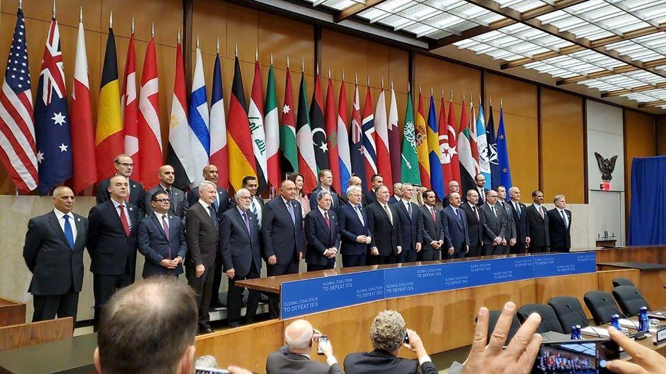 اجتماع المجموعة المُصغرة للائتلاف الدولي لمكافحة داعش