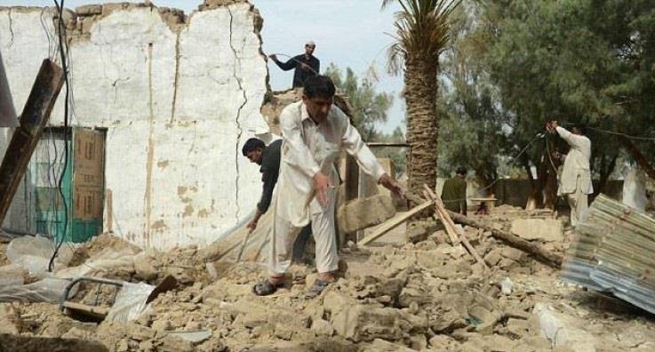 زلزال يضرب جنوب غرب باكستان بقوة 4.2 درجات -          بوابة الشروق