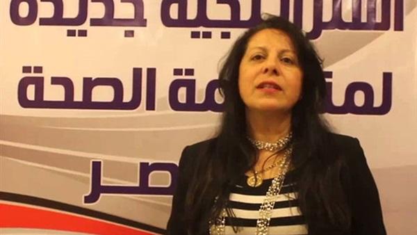 الدكتورة مها حليم، رئيس لجنة الصحة بحزب المصريين الأحرار