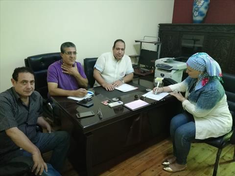 محررة الشروق تتقدم بأوراق ترشحها لانتخابات صحفيين الإسكندرية