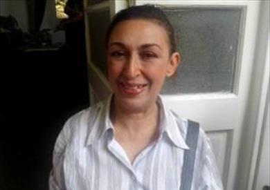 المخرجة والفنانة المصرية مها عرام