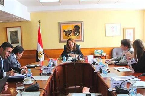وزير التضامن تلتقي أعضاء بعثة «النقد» لبحث التعاون مع الحكومة المصرية