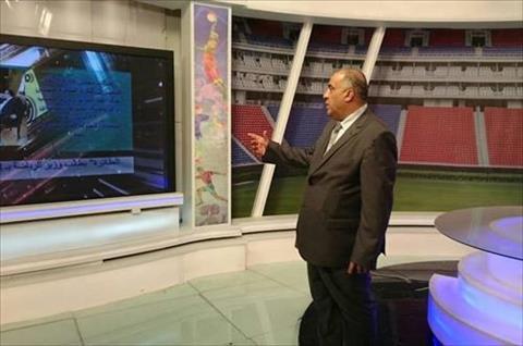 البهنسي يتفقد استوديو النيل للرياضة<br/>