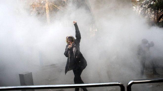 اتهمت وزارة الخزانة الأمريكية رئيس السلطة القضائية الإيرانية بالدعوة لقمع المتظاهرين أثناء الاحتجاجات الأخيرة في إيران<br/>