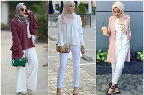 بالصور.. 6 طرق مختلفة لارتداء «البنطلون الأبيض» لإطلالة صيفية