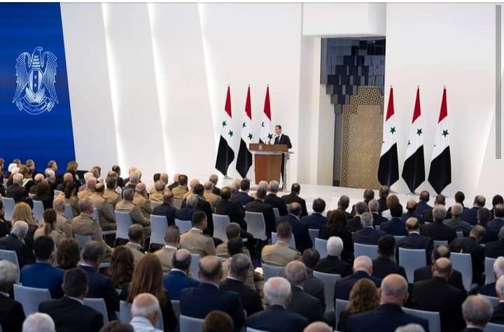 بعد أدائه اليمين رئيسا لسوريا.. الأسد يدعو المغرر بهم فى الخارج للعودة إلى حضن الوطن