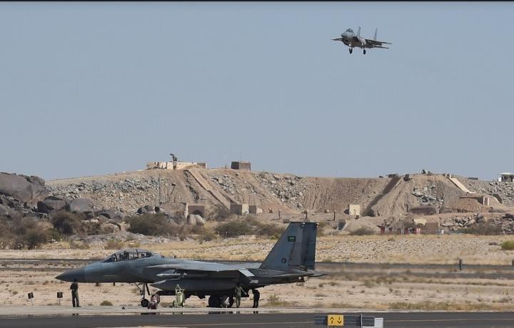 التحالف العربي: اعتراض وتدمير طائرة مفخخة أُطلقت نحو مطار أبها الدولي