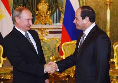 بث مباشر.. مؤتمر صحفي مشترك بين «السيسي» و«بوتين»