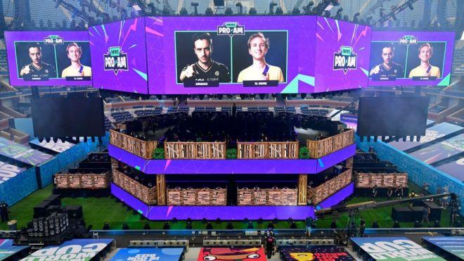 نُظمت بطولة كأس العالم في لعبة فورتنايت في نيويورك