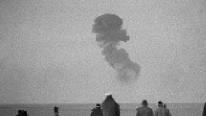 فرنسا أجرت 17 تجربة نووية في الجزائر - المصدر: وكالة الأنباء الفرنسية (أ ف ب)