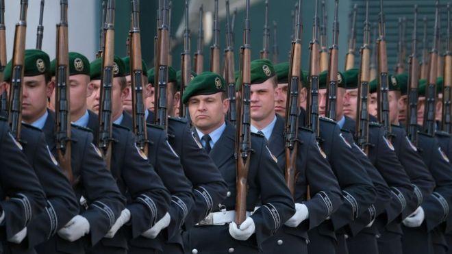 تعد ألمانيا مسؤولة عن ثلث الزيادة في المصروفات الدفاعية في أوروبا