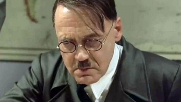 لقطة تصور هتلر من فيلم السقوط