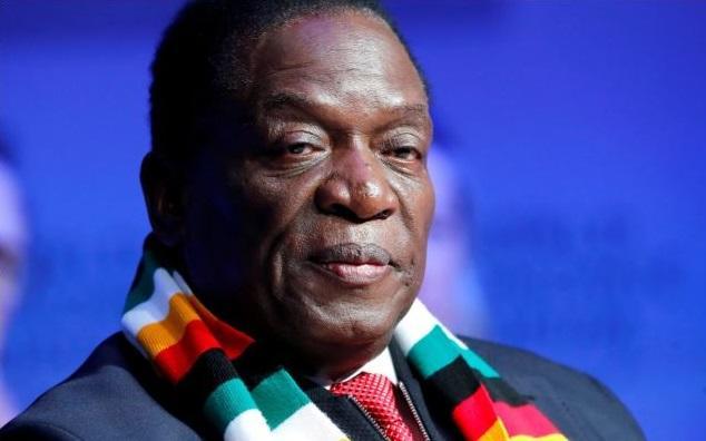 الرئيس الزيمبابوي - إمرسون منانجاجوا